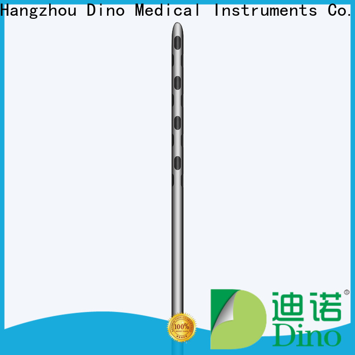 Dino hot selling 24 holes micro fat grafting cannula wholesale for sale