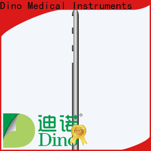 Dino circular hole cannula wholesale bulk production