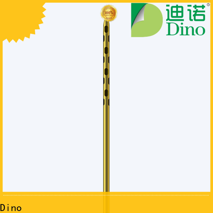 Dino 24 holes micro fat grafting cannula wholesale for losing fat