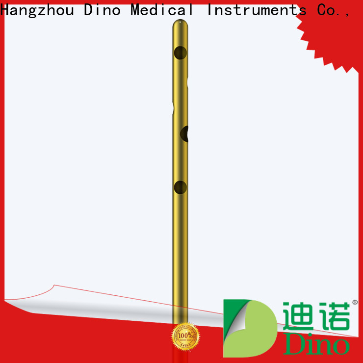 Dino 24 holes micro fat grafting cannula directly sale for surgery