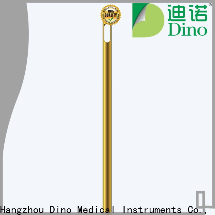 Dino best price circular hole cannula supplier for hospital