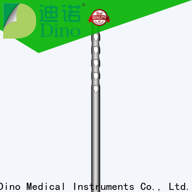 Dino hot selling 24 holes micro fat grafting cannula factory for sale
