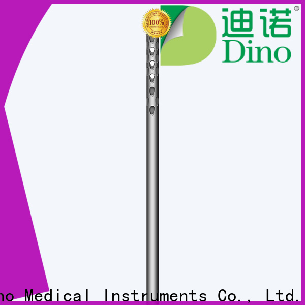 Dino stable micro blunt tip cannula manufacturer for hospital