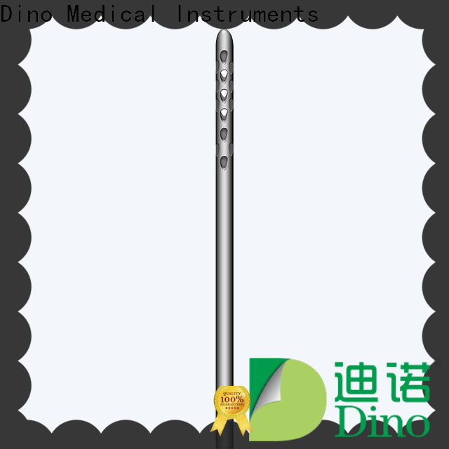 Dino quality 6 holes micro fat grafting cannula manufacturer for promotion