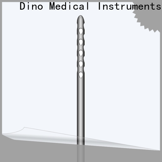 Dino 6 holes micro fat grafting cannula supplier for promotion
