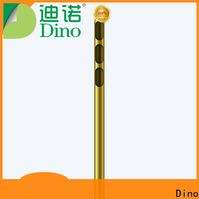 Dino high-quality circular hole cannula factory for clinic