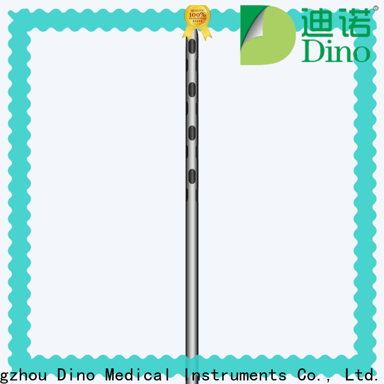 Dino stable micro fat grafting cannula factory for sale