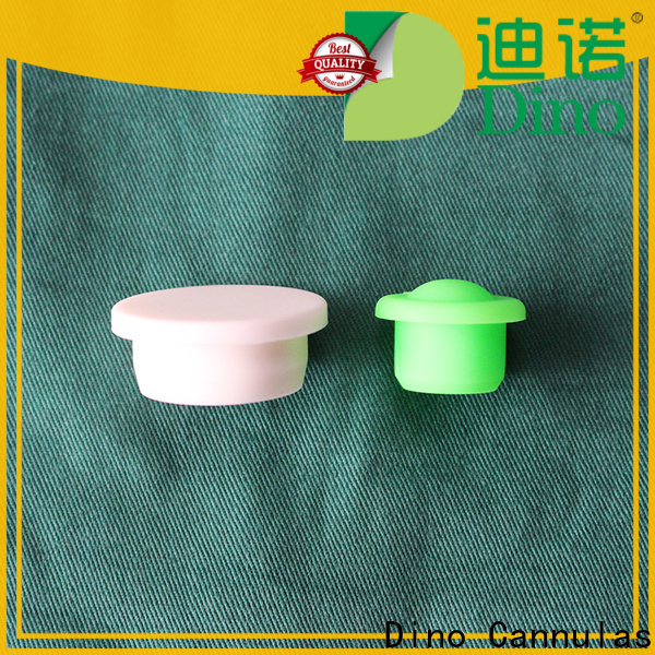 Dino syringe plunger cap company for clinic