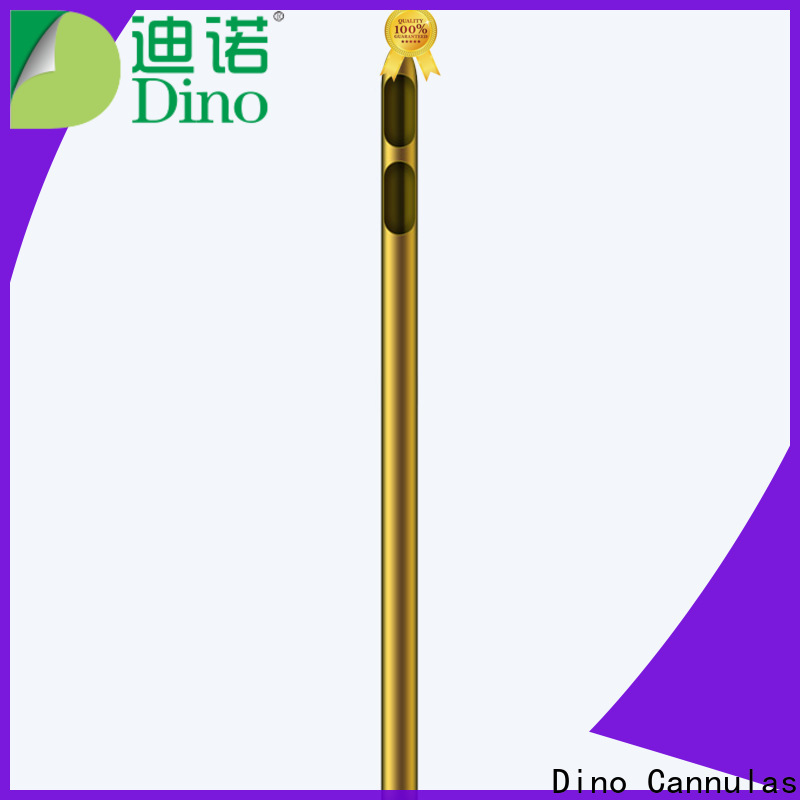Dino factory price one hole liposuction cannula supplier for clinic