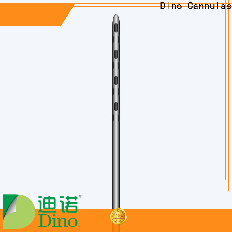 Dino 6 holes micro fat grafting cannula supplier for sale