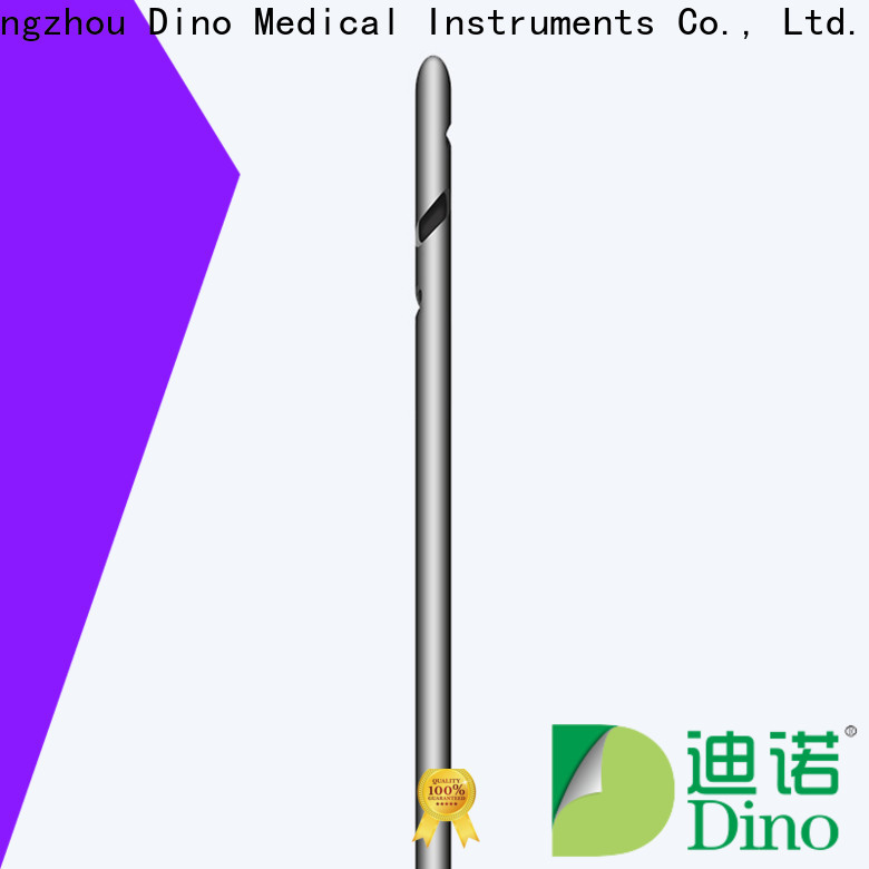 Dino hot selling ladder hole cannula wholesale for clinic