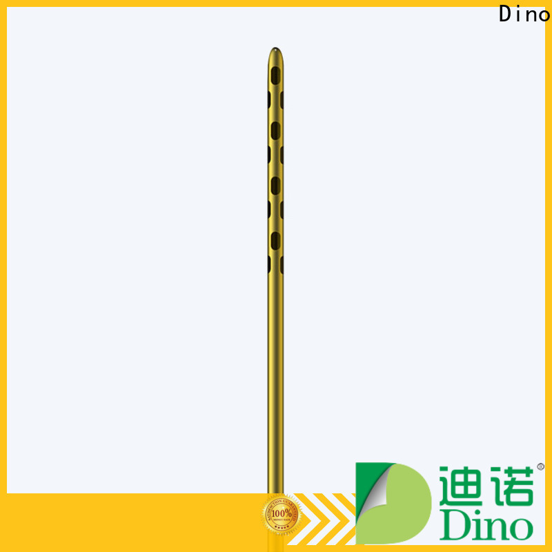 Dino high quality 6 holes micro fat grafting cannula company for clinic