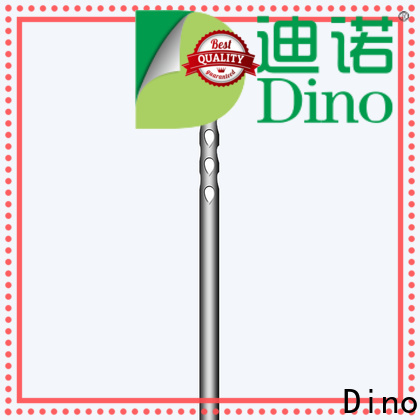 Dino cost-effective 24 holes micro fat grafting cannula factory for hospital