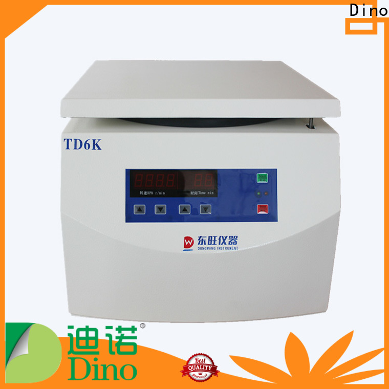 Dino reliable centrifuge machine uses with good price for hospital