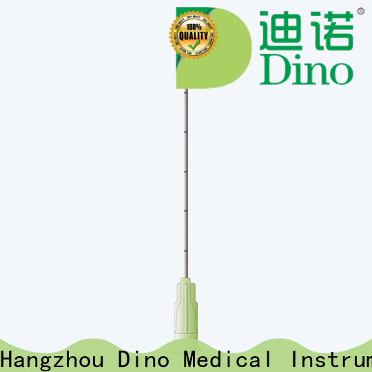 Dino blunt tip microcannula series for hospital