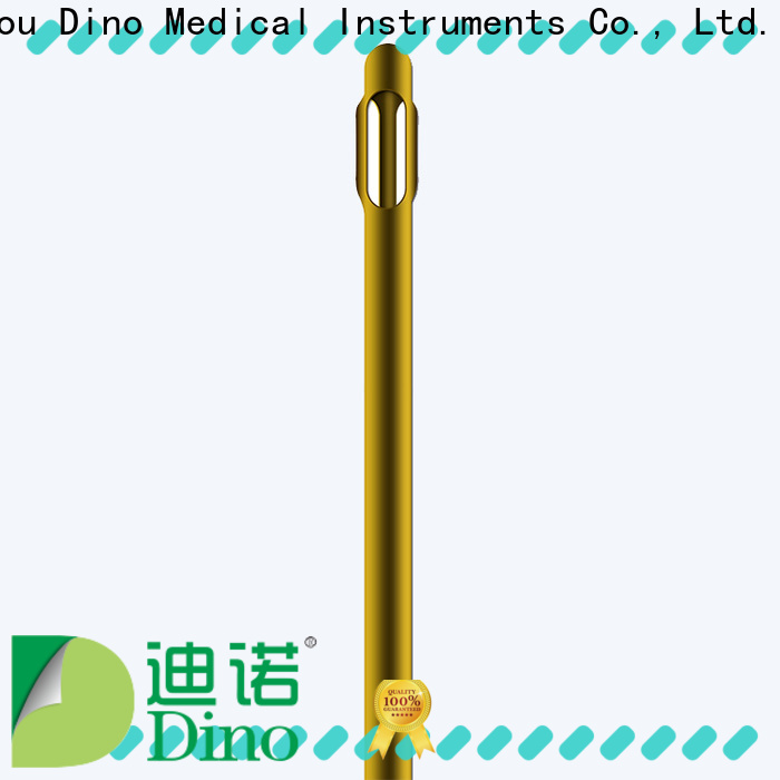 Dino trapezoid structure cannula directly sale for sale