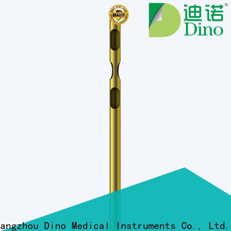 Dino one hole liposuction cannula series bulk production