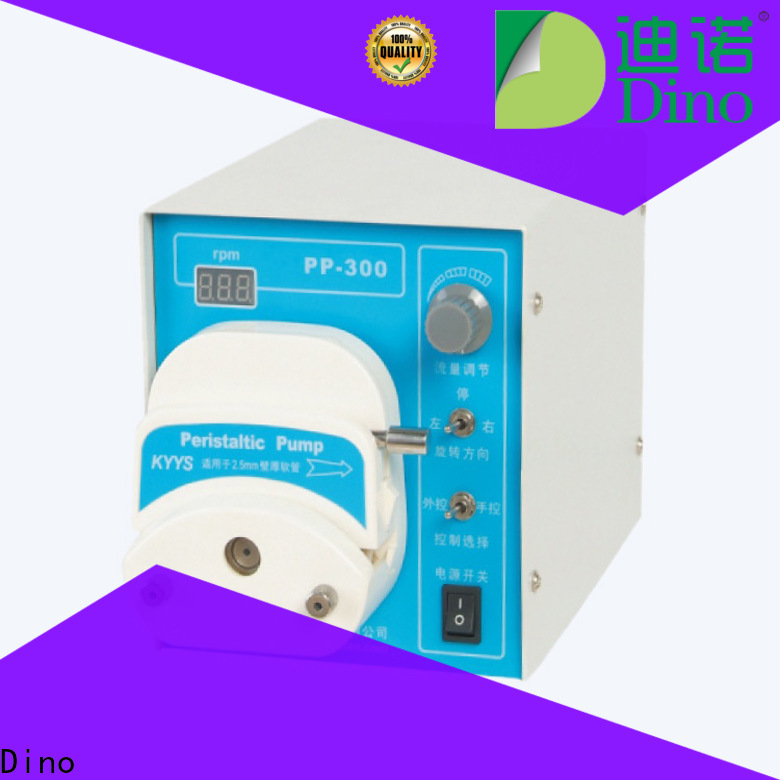 Dino oem peristaltic pump supplier for medical