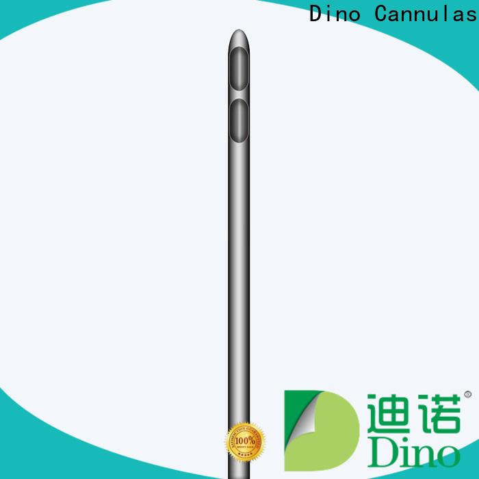Dino two holes liposuction cannula company for clinic