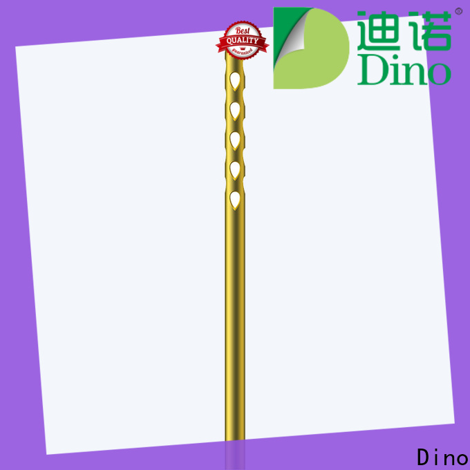 Dino stable micro blunt tip cannula manufacturer for clinic
