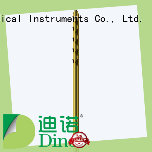 Dino quality 24 holes micro fat grafting cannula factory for clinic