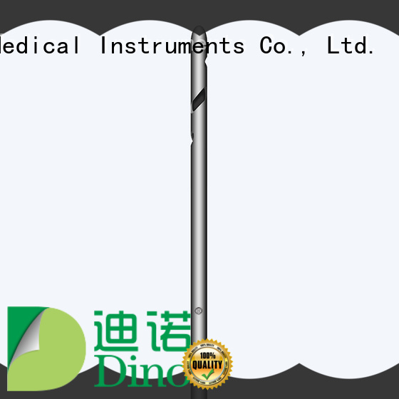 Dino ladder hole cannula factory for medical